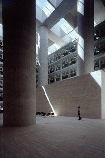 Alberto campo baeza caja granada architectural photography pinterest photos spain and - Caja granada en madrid ...