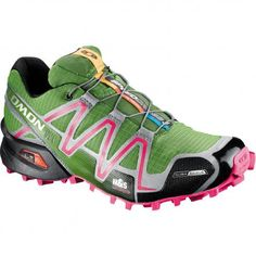 Salomon trail running shoes for winter. Gortex Climashield + ice grips = I need to get these.