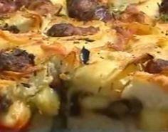 Focaccia rellena -  Cocineros Argentinos