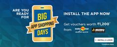 Flipkart has planned another big event after BIG Billion Day. So after its big and nasty Big Billion Day, Flipkart.com has now announced its Big App Shopping Days which provides Special Discounts Only on the Flipkart App from 8th – 12th December, 2014. The sale whichoverlaps with Great Online Shopping Festival 2014 (GOSF 2014) as …