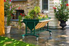 RaisedBeds.com - LGarden Elevated Rolling Garden, $409.95 (http://raisedbeds.com/lgarden-elevated-rolling-garden/)