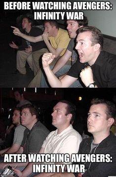 infinity war meme reaction