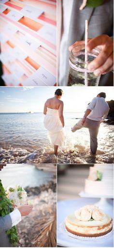 Beautiful Hawaii wedding.