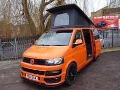 eBay: VOLKSWAGEN TRANSPORTER CAMPER T32 2.0TDi 140 BHP SWB CAMPERVAN Orange Manual Die #vwcamper #vwbus #vw