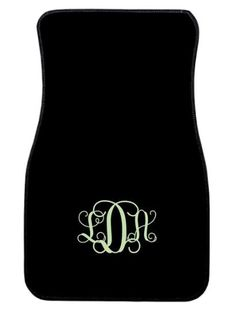 Personalized Car Mats Leaf Swirl Monogrammed Car by ChicMonogram, $75.00