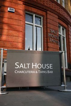 From the front of Salt House Tapas