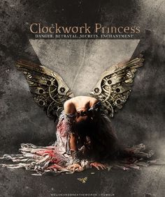 Clockwork Princess, final book in The Infernal Devices by Cassandra Clare. Only a handful of books have ever made me cry and this is one of them. Loved these!
