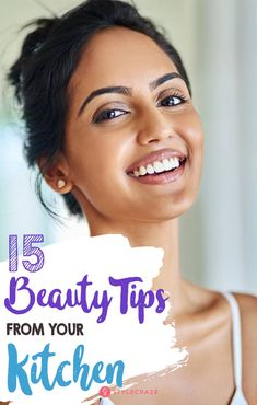 15 Beauty Tips From Your Kitchen #skincare #beauty tips