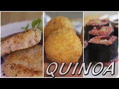 (3) 3 RECETAS CON QUINOA || Con la masa en las manos - YouTube Quinoa Salad, Chipotle, Cornbread, French Toast, Recipies, Low Carb, Keto, Make It Yourself, Breakfast