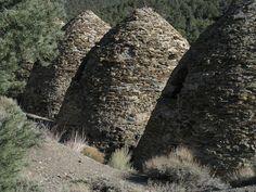 Death Valley's Charcoal Kilns