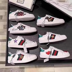 101be49d818d 2017 Gucci Sneaker Gucci Outfits