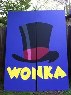 2 - 3'x8' Panels – #Set for Willy Wonka. Willy Wonka Halloween, Roald Dalh, Record Wall Art, Lip Sync, Chocolate Factory, Calisthenics, Summer Kids, Set Design, School Stuff