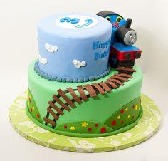 Themed Cakes, Birthday Cakes, Wedding Cakes: Thomas The Train Themed Birthday Cake
