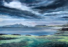 Western Isles giclee print,Islands of Rum Eigg, Mug and Skye,Ardnamurchan lighthouse,Outer Hebrides,Scottish landscape, Etsy UK