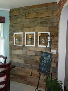 Pallet wall behind wood stove   FUN to DIY   Pinterest ...