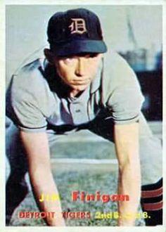 248 - Jim Finigan - Detroit Tigers