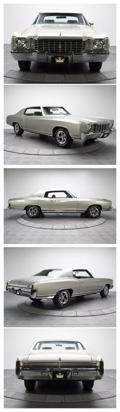 1972 Chevy Monte Carlos