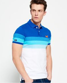 Featuring a comprehensive selection of colours and designs, our range of men's polo shirts has something for every style. Sports Polo Shirts, Mens Polo T Shirts, Polo Tees, Polo Shirt Women, Polo Shirt Style, Polo Shirt Design, Polo Design, Mens Striped Sweater, One Direction Shirts