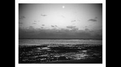 Shellharbour beach sunset with moon