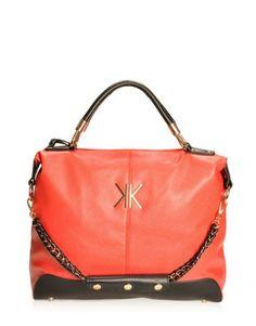 Rochester oversized slouchy colour block shoulder bag