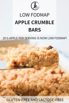 Apple has been retested in 2018 and 20 g of apple is now low FODMAP. Fodmap Dessert Recipe, Fodmap Recipes, Gluten Free Recipes, Dessert Recipes, Kabob Recipes, Fondue Recipes, Dinner Recipes, Fodmap Diet, Amigurumi