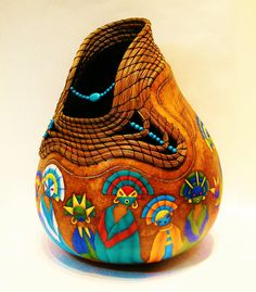 gourd art enthusiasts images   Sisters of the Southwest - Gourd Art Enthusiasts