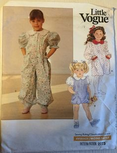 9fd67357fbc 42 Best Children s Vogue Sewing Patterns at Jeanny s New to You ...