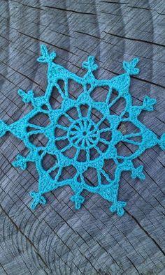 Forsythia Snowflake