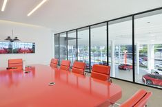 DBM Architects | Scuderia Ferrari Dealership, Bryanston, Johannesburg South Africa, Conference Room, Architects, Home Decor, Decoration Home, Room Decor, Meeting Rooms, Building Homes