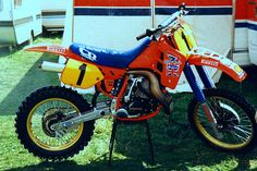 80's works mx bikes were a thing of beauty