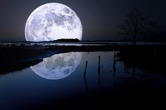 The moon is simply brilliant.
