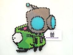 Image result for invader zim perler zir