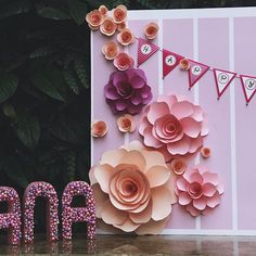 """Babygirl's name is Hana, it means """" flower """" in japanese. That 's why the theme…"""