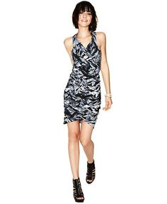 JesseRay & Garrett's Print Basketweave Bandage Dress | #FashionStar