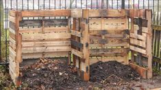 How to Build a Composting System from Pallets   Hometalk Pallet Decking, Pallet Shed, Pallets Garden, Pallet Planters, Pallet Fence, Outdoor Pallet, Recycled Pallets, Wood Pallets, Making A Compost Bin