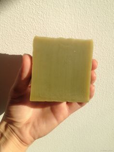 Cold processs mint soap with tea tree and spirulina!