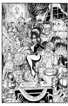 Elvira ~ Nick Bradshaw