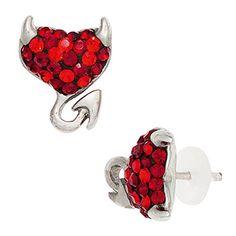 Heart Ring, Earrings, Jewelry, Fashion, Pendant Earrings, Ear Jewelry, Heart, Stainless Steel, Wristlets