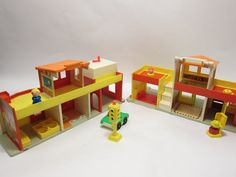 Fisher Price Play Family Vintage With Little People Mainstreet toy vintage 1970 toy on Etsy, $54.00