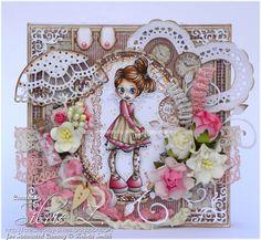 Created-By-Silvie-Z.: Saturated Canary Pocket Valentine - Copics: Clothes, RV66, 34, 32, 11, 00 E44, 43, 41, 40 E77, 74, 71, 70 hair: E49, 39, 35, 33 skin: E04, 13, 11, 01, 000, 0000; R30, 21