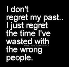 If I could just recover the time wasted.