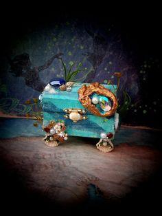 Dollhouse Miniature Under the Sea Mermaid's by 19thDayMiniatures