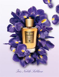 Acqua Di Parma Iris Nobile Sublime via luxury-insider #Fragrance #Iris_Nobile_Sublime