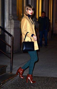 Taylor Swift con esp�ritu neoyorquino