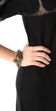 Erickson Beamon Rear Window Bracelet