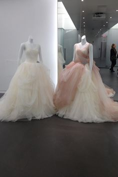 White by Vera Wang omg that rose and ivory dress is a dream come true