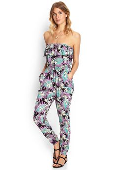 Paradiso Strapless Jumpsuit | FOREVER21 - 2000061280
