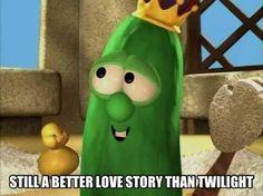Lets just face it. Veggietales is jut better at love stories