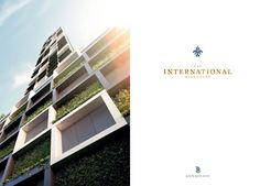 The International Apartments New Property, Shopping Center, Four Square, Apartments, Multi Story Building, Flats