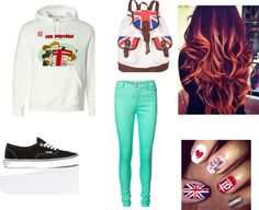 """""""One Direction outfit for school"""" by hazzzaaa-please on Polyvore"""